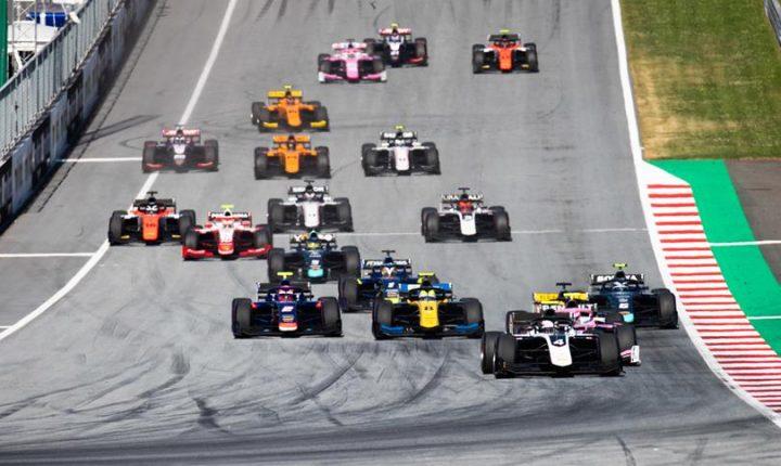 Fórmula 2 / Fórmula 3: Rodadas duplas na Áustria que teve vitória do Brasil com Sette Câmara na F2