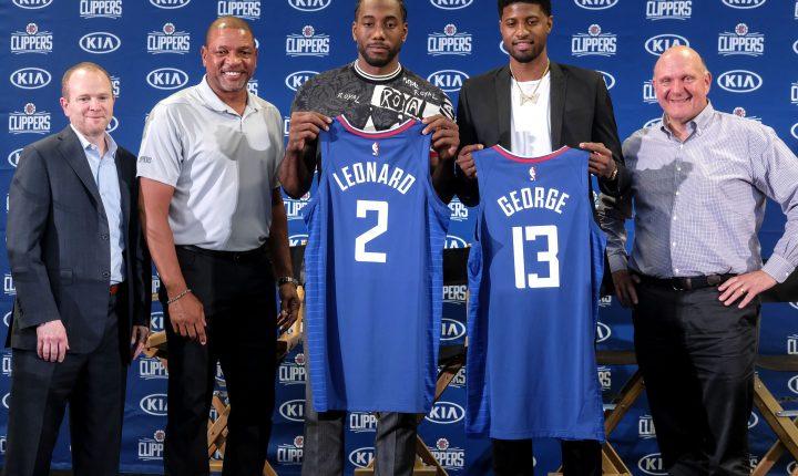 Revolução além das quadras no Los Angeles Clippers