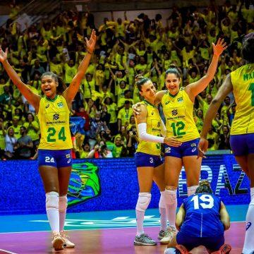 Seleção Brasileira Feminina se classifica para Tóquio 2020