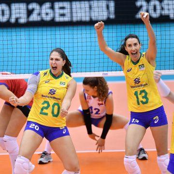 Abaixo do esperado, Brasil vai a Sapporo em busca de um milagre no Mundial de Vôlei