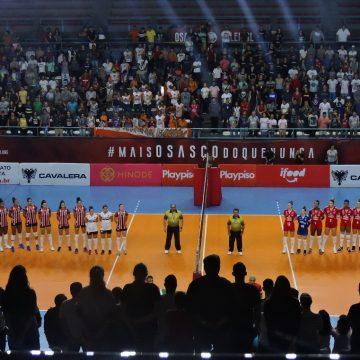São Paulo Barueri e Osasco Audax se enfrentam no primeiro jogo da final do Paulista de Vôlei