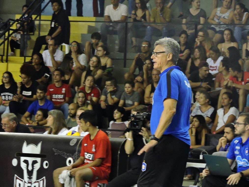 Superliga Masculina de Vôlei 2019 2020 - 1º turno - 11ª rodada - SESI-SP X Taubaté