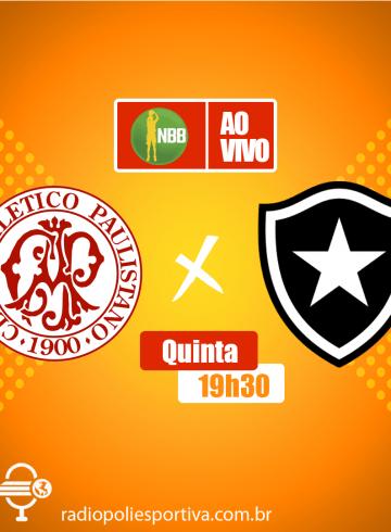 NBB 12 – Paulistano X Botafogo – Ginásio Antônio Prado Jr.