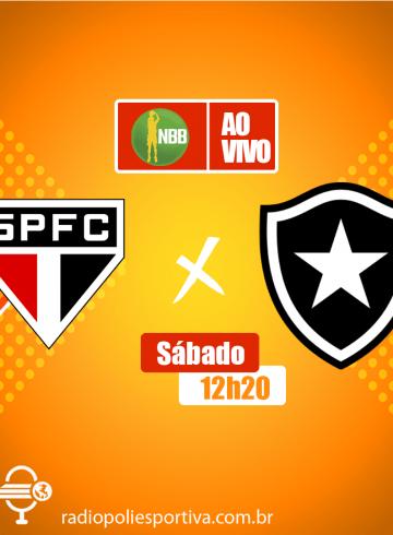 NBB 12 – São Paulo X Botafogo – Ginásio do Morumbi