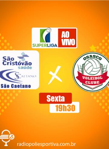 Superliga Feminina – São Caetano X Osasco Audax