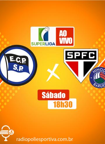 Superliga Feminina – Pinheiros X São Paulo Barueri