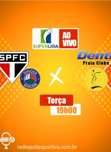 Superliga Feminina – São Paulo Barueri X Dentil Praia Clube