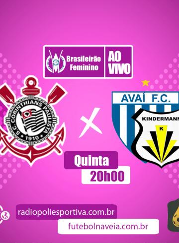 Brasileirão Feminino – Corinthians X Kindermann