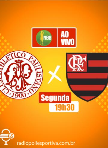 NBB 12 – Paulistano X Flamengo