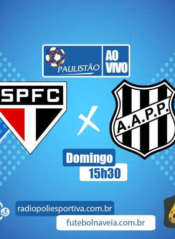Paulistão 2020 – São Paulo X Ponte Preta