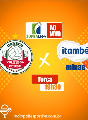 Superliga Feminina – Osasco Audax X Itambé Minas