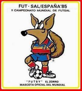 Mascote do Mundial na Espanha - FIFUSA FUTSAL
